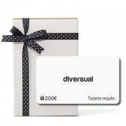 Tarjeta Regalo 200€ Diversual