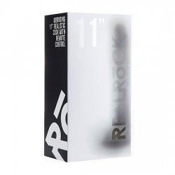 Realrock Pene Vibrador con Escroto 29.5 cm Negro