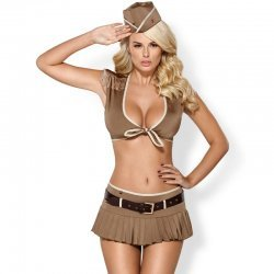 814-CST-4 Sexy military costume
