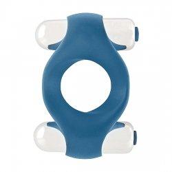 Infinity Anillo Doble Vibración Azul