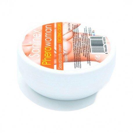 Crema Saninex de Feromonas Exciting Desire 150 ml