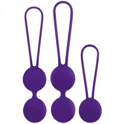 Balls Osian Set Premium purple silicone
