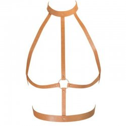 Indiscrets Sexy Brown H harness