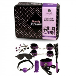 Set Bondage 8-piece purple