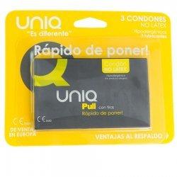 Pull bandes 3 Uds nonlatex préservatif