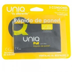 Pull strips 3 Uds nonlatex condom