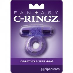 Fantasy C Ring Vibrating Super Ring Morado