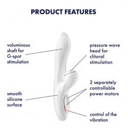 Satisfyer Pro G-Spot Rabbit Clítoris
