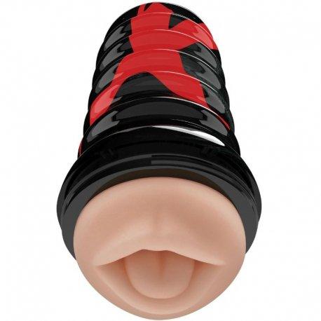 PDX Elite Masturbador Masculino Diseño Boca