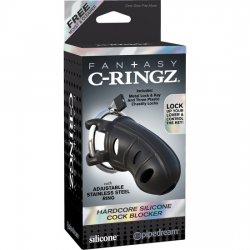Fantasy C-Ringz Funda para el Pene con Anillo Metálico