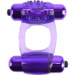 Anillo C Ring Duo Vibrador Super Morado