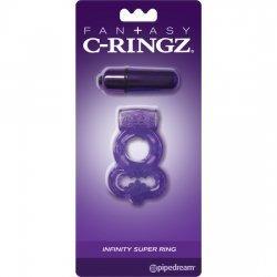 C Ring Infinity Super Ring Morado