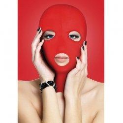 Aïe présentation masque rouge