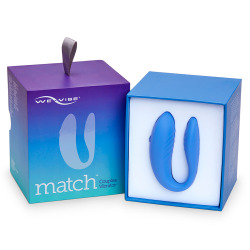 We Vibe Match Pinza Azul para Parejas