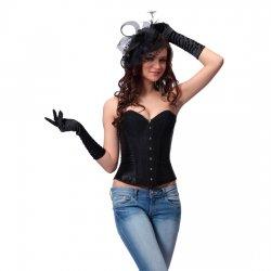 Intimax Corset Negro Purpurina