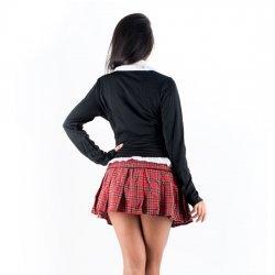 Picaresque Disfraz College Girl Negro
