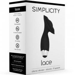 Vibrador Lace G-Spot + Clitorial – Negro