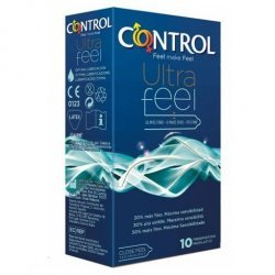 Control Adapta Ultra Feel 30% más Fino 10 Uds
