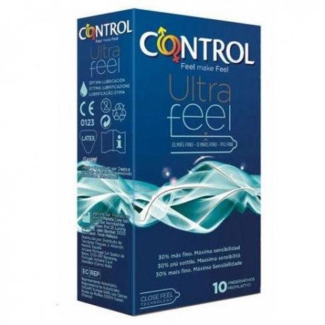 Control Adapta Ultra Feel 30% más Fino 10 Uds