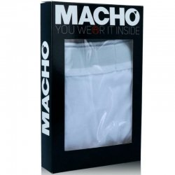Macho MS075 Boxer Deportivo Negro