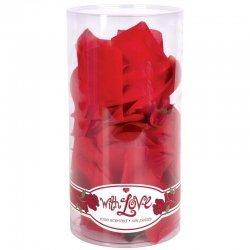 Lit de roses rouges pour cadeau