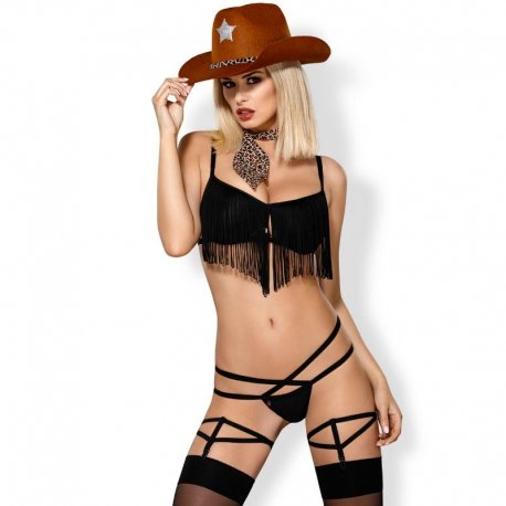 Disfraz 832–CSR-1 Cheriff Cowgirl Sexy