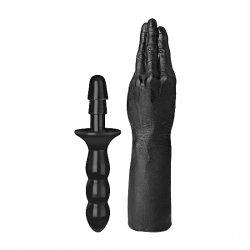 Mano con Vac-U-Lock Compatible Negro