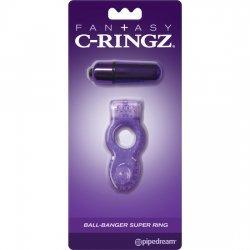 Anillo C Ring Ball Banger Super Morado