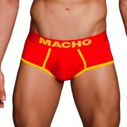 Red MS089 sports briefs