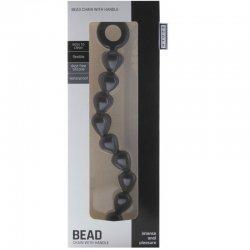 Annals balls chain black silicone