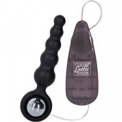 Booty Call Vibrador Anal Shaker Negro