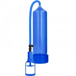 Bomba Erección Principiantes Comfort Beginner Azul