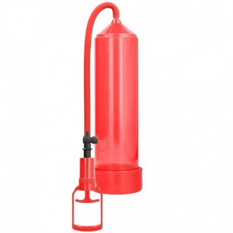 Comfort Beginner Bomba Erección Principiantes Rojo