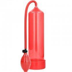 Pompe à érection rouge classique