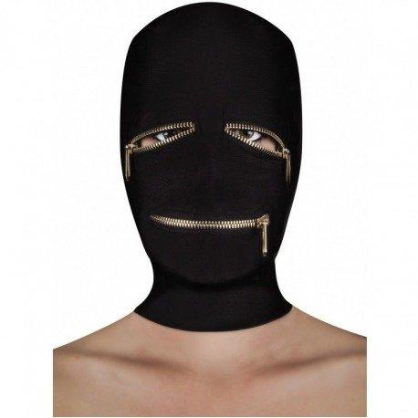 Extreme Zipper Máscara Cremallera Ojos y Boca