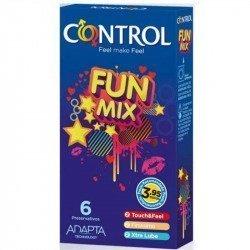 Uds de contrôle Fun Mix 6 préservatifs