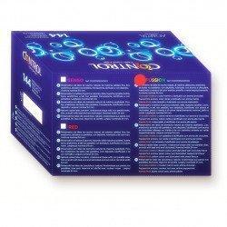 Contrôle préservatifs Fussion boîte 144 PCs