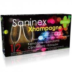 Condoms 12 Uds Xhampagne Punteado