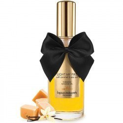 Effet de massage l'huile chauffer l'arôme caramel