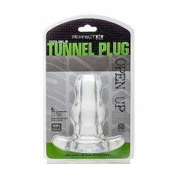 Double Tunnel Plug Grande Transparente