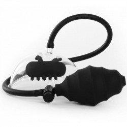 Bomba Succión con Vibración Negro