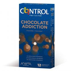 Préservatifs contrôle Addiction au chocolat 12 PCs