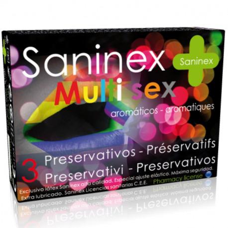 Preservativos Multi Sex 3 Uds