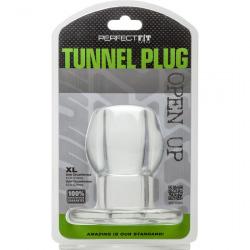 Plug Silicona Tunnel Clear Transparente XL