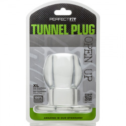 Plug Silicona Tunnel Clear Transparente XL