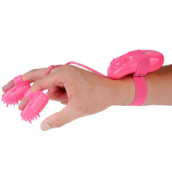 Magic Touch Finger Fun Estimulator Dedal Rosa