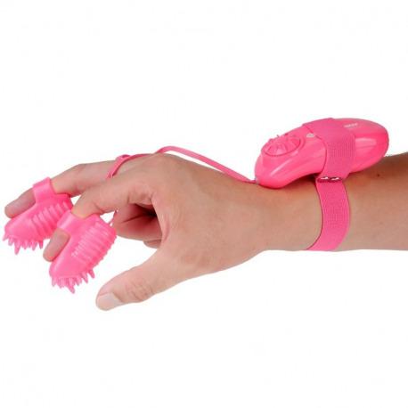Magic Touch Finger Fun Estimulator Dedal Rosa