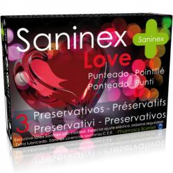Preservativos Love Punteado 3 Uds