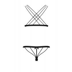 Conjunto 2 Piezas en Cruz 854-1 Negro