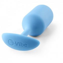 B-Plug Vibe Snug Plug Anal 3 Azul Cielo